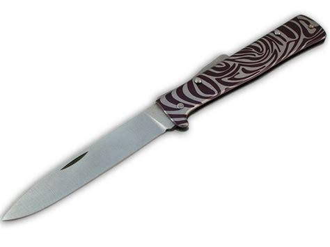 mercator knife mercator knife with zebra handle folding knives