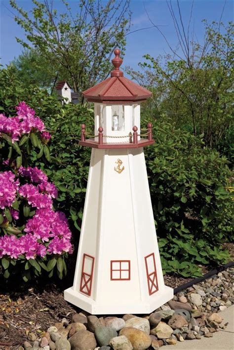 Galerry wooden lighthouse lawn ornaments bing images