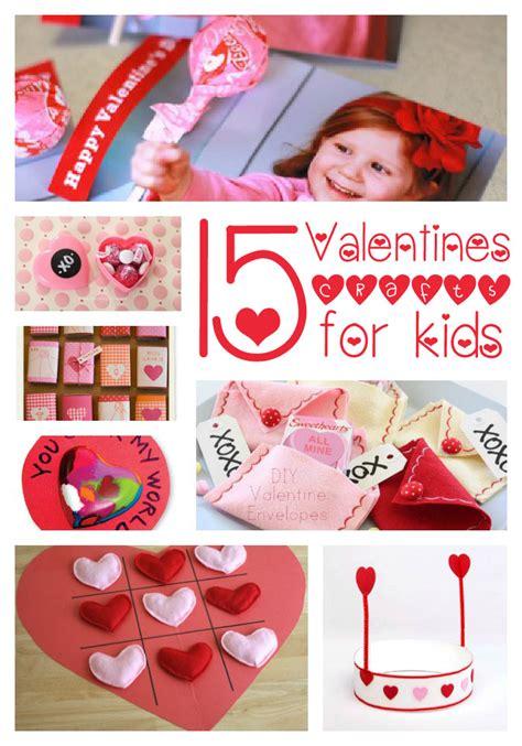 Valentines Papercraft - 15 valentines crafts i nap time