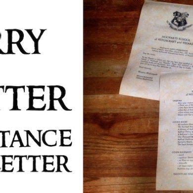 Harry Potter Acceptance Letter Tutorial 17 Best Ideas About Hogwarts Letter Template On Hello Harry Harry Potter