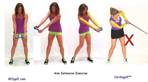 golf swing help how a dumbbell can help your golf swing cardiogolf