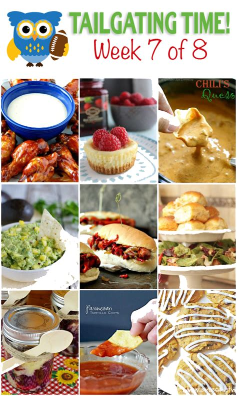 tailgating food ideas week 7 made from pinterest