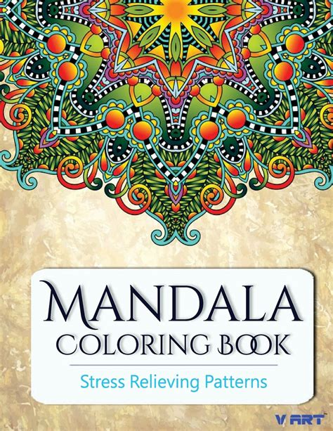 mandala coloring book stress relieving patterns new mandala coloring book adults stress relieving patterns