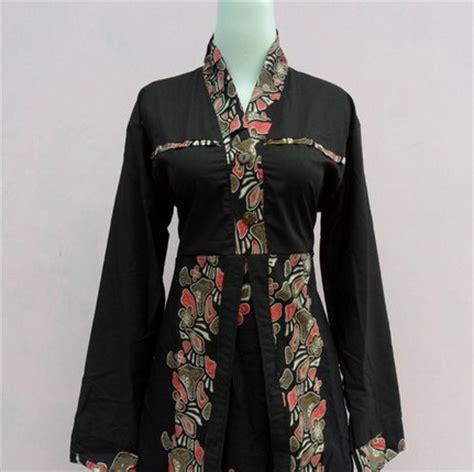 Baju Muslim Batik Modern 10 contoh baju muslim batik modern 2015