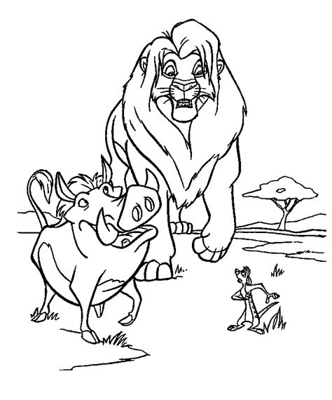 lion king coloring pages online lion king 2 coloring pages coloring home
