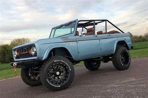 ford bronco 4 door 1966 ford bronco four door heads to sema tensema17