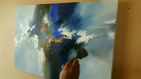 acrylic painting using palette knife abstract painting acrylic abstract painting using
