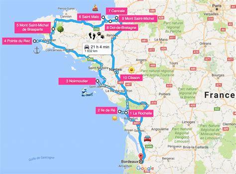 map a road trip road trip en a la decouverte de l ouest en 10