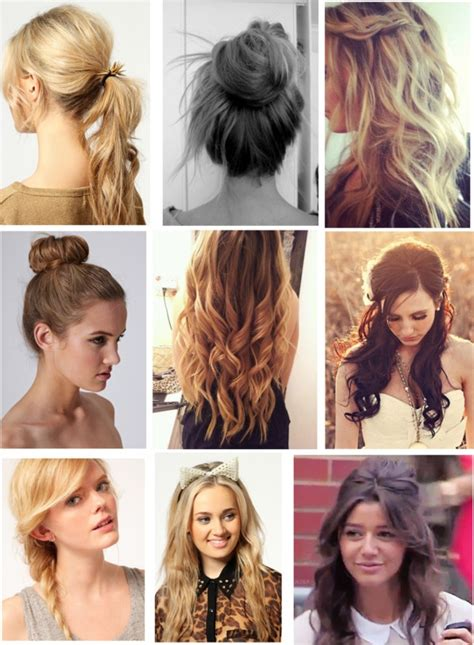 casual hairstyles for college eleanor inspired hair styles for school