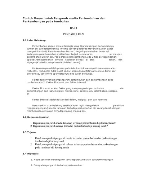 format membuat artikel ilmiah kumpulan contoh judul search results kumpulan contoh karya ilmiah tentang