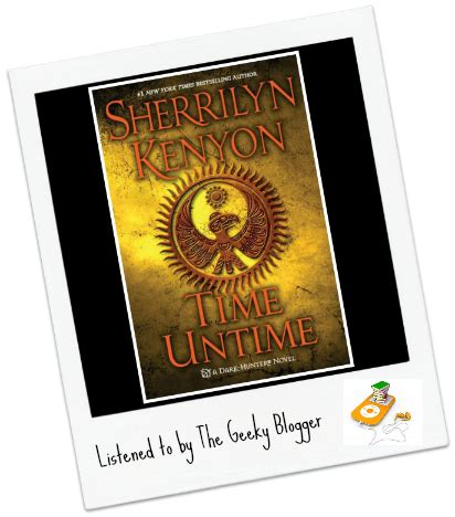 time untime novels audiobook review time untime by sherrilyn kenyon