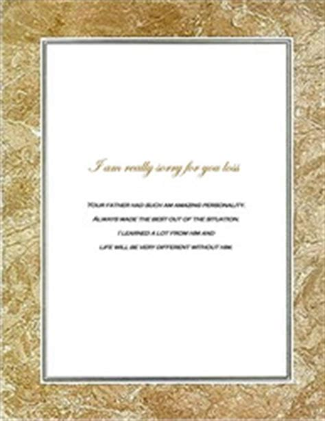 free printable sympathy card template 7 best images of bereavement templates printable free