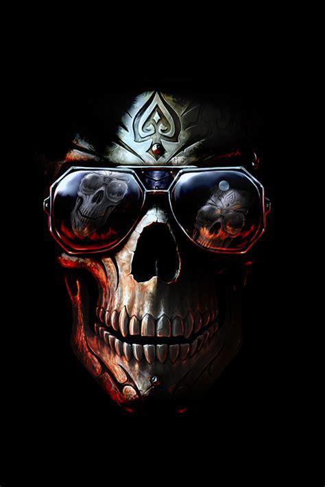 wallpaper hd iphone skull badboy skull iphone wallpaper hd