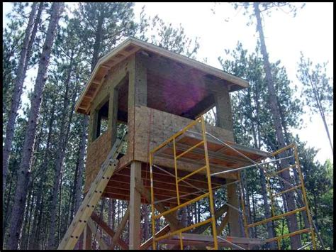 Shooting House by 29 Best Images About Cheap Shooting House Plans Deer