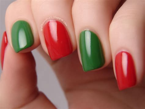 easy nail art green 40 easy christmas nail art designs all about christmas