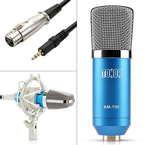 condenser microphone needs phantom power tonor 3 5mm xlr condenser microphone podcasting studio recording mics with 48v phantom power