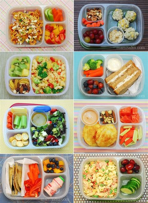 tons  easy  pack lunches  school  work