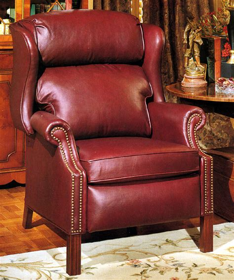 high quality recliners high quality leather recliner chippendale style