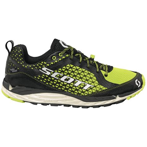 black trail running shoes kinabalu t2 hs trail running shoes black green mens at