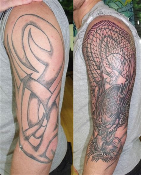quot tribal quot cover up rites of passage tattoo