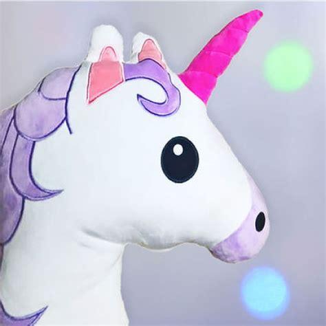 almohadas de unicornio almohada de unicornio emoji chuncherecos
