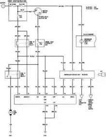 2002 honda civic immobilizer system circuit diagram