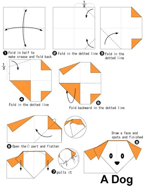 Puppy Origami - 1000 images about origami for on origami