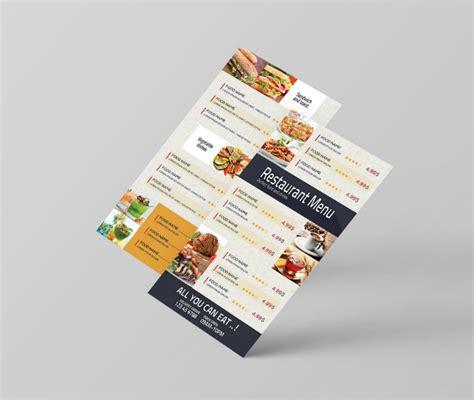 takeaway menu template free 14 restaurant takeaway flyer templates psd free