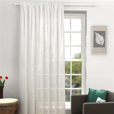 white and silver voile curtains ferndale white and silver voile curtain panel harry