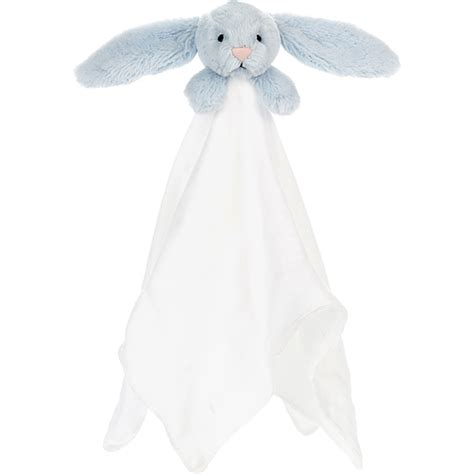 Jellycat Bashful Elly Soother Blue jellycat bashful blue bunny muslin soother