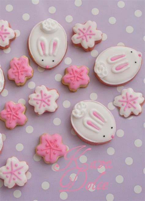 Link Precious Snowflake Cookies 2 by Easter Egg Cookie Inspiration Easter Bunny Cookies