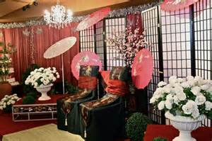 japanese themed decor japanese or themed weddings decorations for the