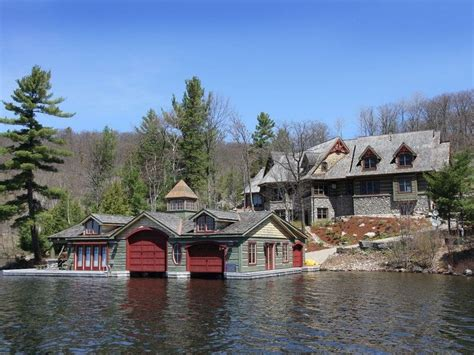 living on a boat in ontario rustic lake house muskoka ontario canada