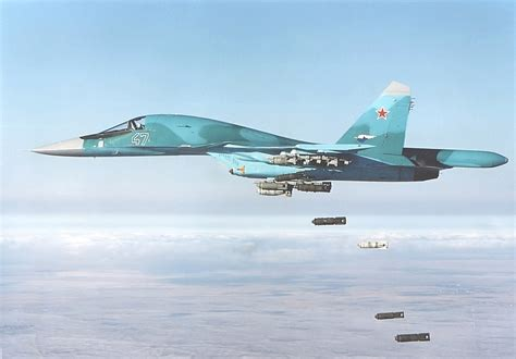 Russian Air Force One by Sukhoi Su 34 Fullback Russia S New Heavy Strike Fighter