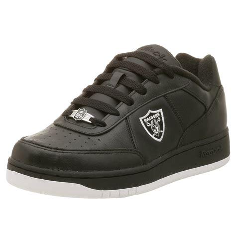 raiders sneakers reebok s oakland raiders nfl recline athletic shoes ebay