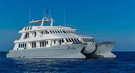 yacht vs ship galapagos cruises large vs small boats galapagosislands