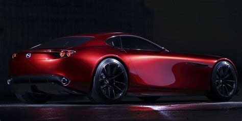 mazdas rotary powered rx vision concept