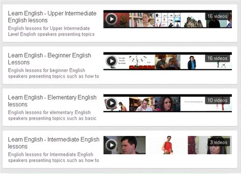 english tutorial online youtube best free english learning resources march 2012