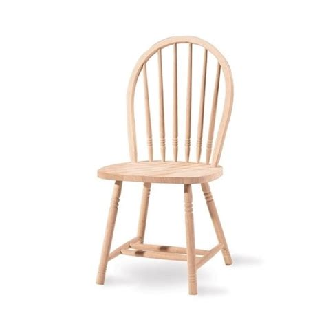 Unfinished Chair by Unfinished Spindle Back Dining Chair 1c 114