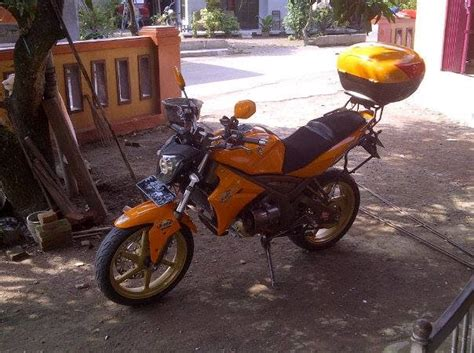 Lu Projie Buat Vixion motor touring yamaha vixion modifikasi motor