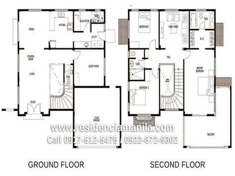 House Design With Floor Plan In Philippines | house floor plan philippines bungalow house design plans