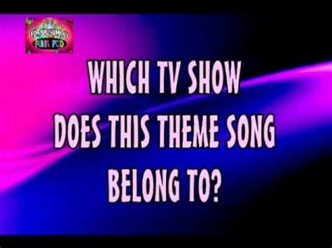 theme song quiz facebook music quiz name that tv show no 1 youtube