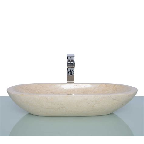 Sink Or Basin by Polished Beige Marble Oval Wash Basin Sink Free