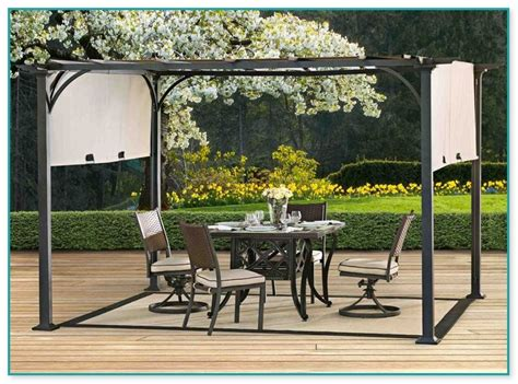 Metal Pergolas With Canopy Metal Pergolas With Canopy