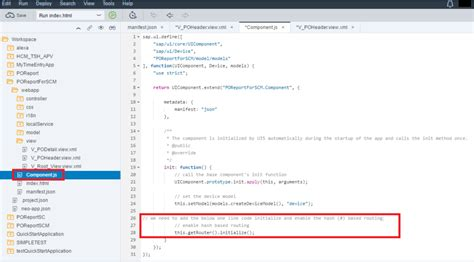 sapui5 tutorial xml view sapui5 tutorial with webide part ii routing and