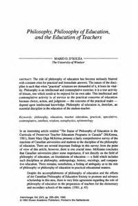 Personal Philosophy Essay by Teaching Philosophy Essay