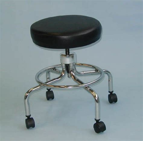 Doctor Stool by Classic Doctors Stool W O Back W Foot Ring Casters