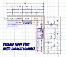 Kitchen Cabinets Floor Plans cabinet floor plans on this is our 10 by 10 sample kitchen floor plan
