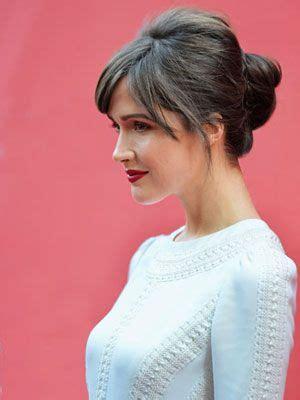 updo hairstyles 50 plus plus de 25 id 233 es tendance dans la cat 233 gorie rose byrne sur