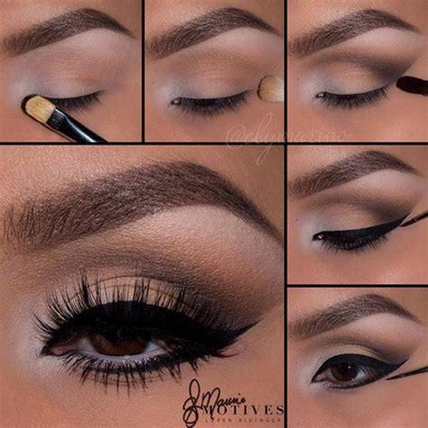 eyeshadow tutorial dark brown eyes 40 great eye makeup looks for brown eyes hairstyles 2018